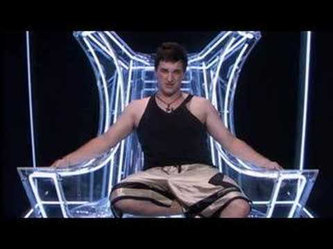 Big Brother 8 UK : OMG..Liam with a Boner in Diary Room