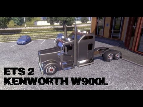 Euro Truck Simulator 2 - Kenworth W900L - Buy and Customize - PC HD