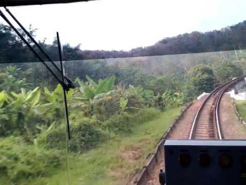 [Kereta Api] - Sensasi Menaiki Kereta Api Ambulan (Rail Clinic) Di kabin Masinis PART 1