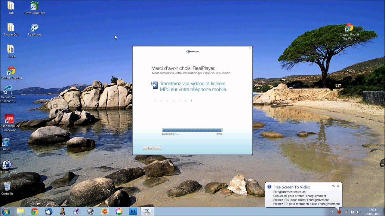 telecharger real player gratuit 2012 pour windows xp