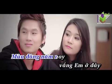 Đông Về Em Ở Đâu Remix Karaoke HD