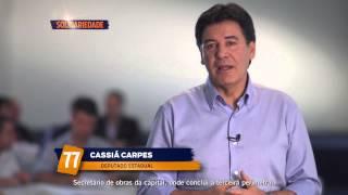 Programa de televisão – Deputado Cassiá Carpes