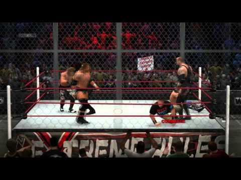 WWE 13 The Miz vs. John Cena vs. Kane vs. HBK vs. HHH vs. Undertaker