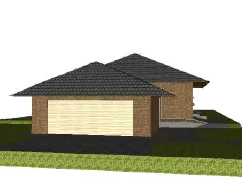 3D Bungalow Animation - YouTube