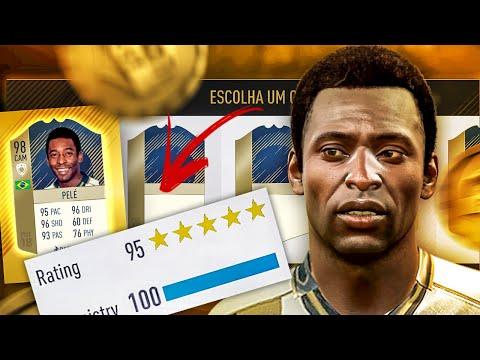 TIREI O PELÉ NO FUT DRAFT!! EM BUSCA AO DRAFT 195!! FIFA 18