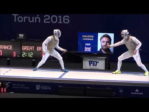 European Fencing Championships 2016 Mens Team Foil Medal Matches