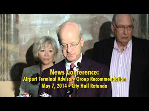 News Conference: KCI Terminal Advisory Group Recommendation