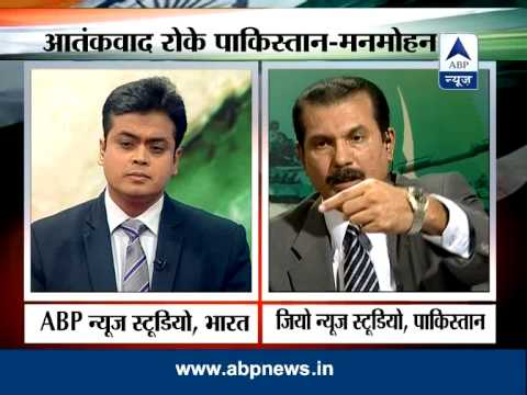 ABP News and Geo TV debate on indo-Pak relations