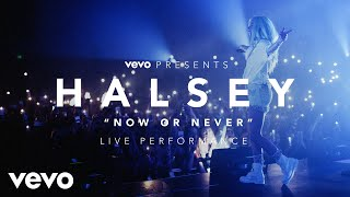 Halsey - Now or Never (Vevo Presents)