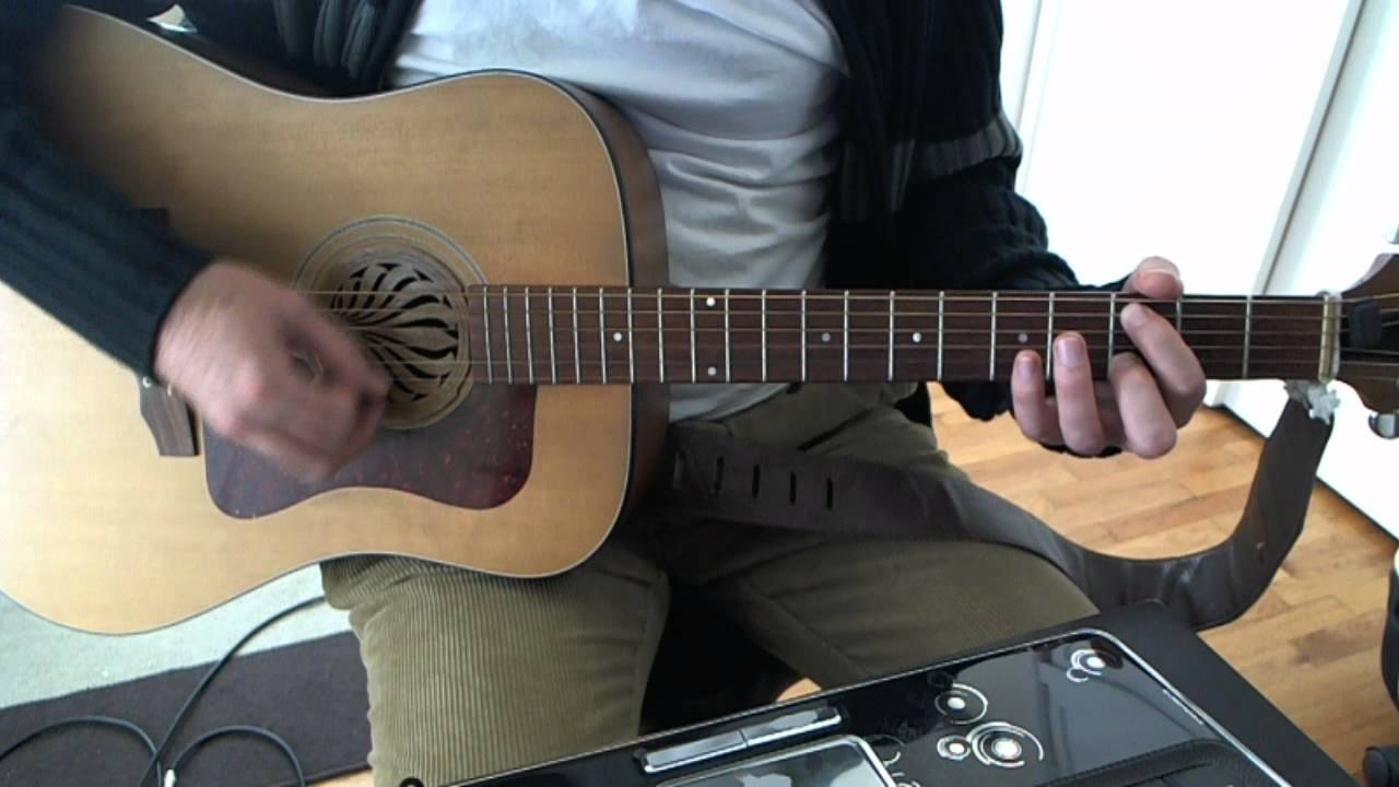 Swing Life Away Acoustic Guitar Solo Lesson Rise