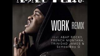 A$AP Ferg Work REMIX Lyrics