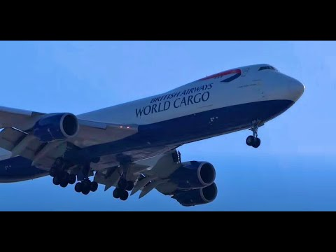 Holiday Heavy Aircraft & Specials - Plane Spotting Chicago O'Hare International Airport