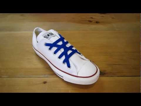 How to Cross Lock Lace Chuck Taylors