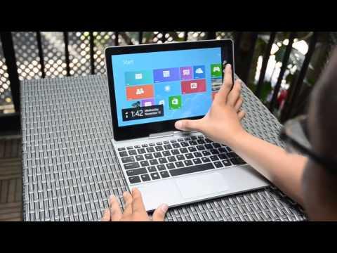 Trên tay HP EliteBook Revolve 810