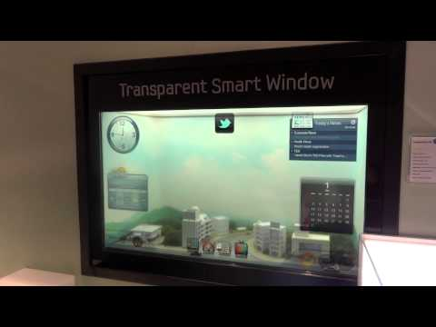 Samsung Transparent Smart Window