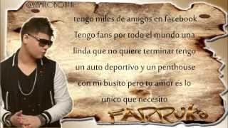 Sin Ti Farruko (Con Letra) Video Romantic 2013
