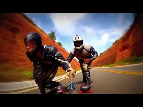 Skate Downhill Aimorés - MG - Fernando Rubim e Frexande.. Longboard ES gopro - 7 de setembro