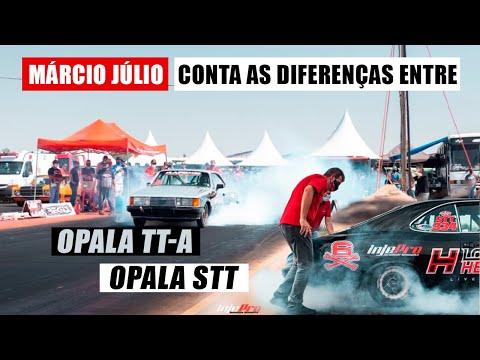 Os OPALAS STT e TT-A de Márcio Júlio