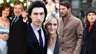 Star Wars: The Last Jedi ... and their real life partners