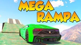 MEGA RAMPA LARGA!! Gameplay GTA 5 Online Funny Moments