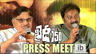 Khaidi No.150 press meet..