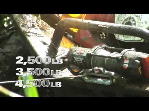 Warn ProVantage 2500 3500 4500 LB Pound ATV UTV Winch Hoist