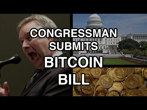 BREAKING: US Congressman Steve Stockman To Introduce First Bitcoin Bill