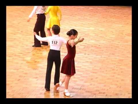 2010 US National DanceSport Championships BYU Aaron & Rashell Standard Preteen