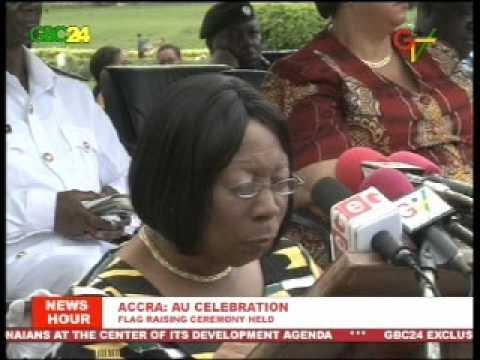 Accra: AU Flag Raising
