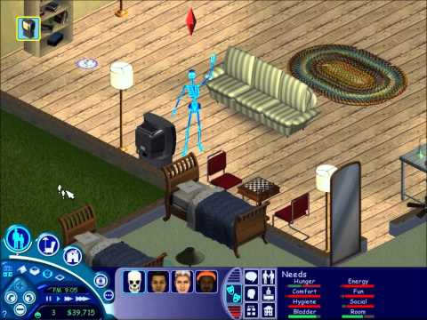 The Sims 1 -  Electrocution