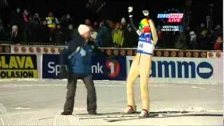 Johan Remen Evensen Vikersund 2011 246.5 M New World Record
