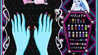 Juego De Vestir Monster High Manicura Gratis Online