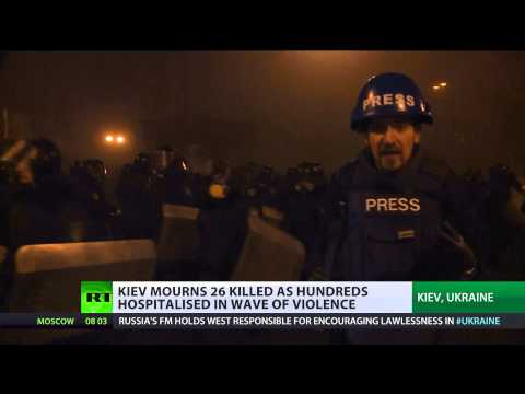Uneasy Truce: Ukraine mourns riot victims as govt agrees to ceasefire