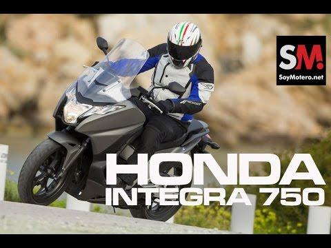 Presentación Honda Integra 750 2014
