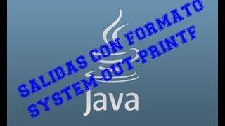 Java. Imprimir formateando la salida con printf
