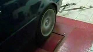 Тест двигателя M54B22 на динамо стенде