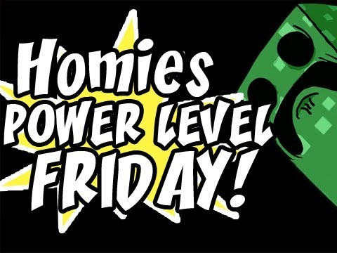 Homies Power Level Friday: HomieCraft Ep.20 &quot;Scary Episode is Scary&quot; (World Download Included)