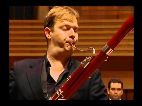 Matthias Racz - Fagott, bassoon, fagot /  Weber Concert for bassoon / Simon Bolivar Orchester 2011