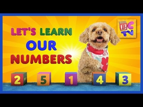 Learning Numbers for Kids-Educational video for preschool children to learn numbers 1-10 in English