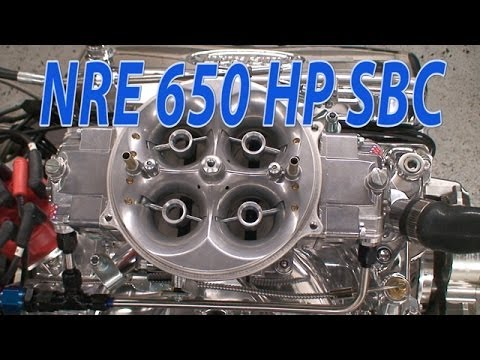 New 650 HP NA 427CI(7L) SBC from Nelson Racing Engines.  NRE TV Episode 211.
