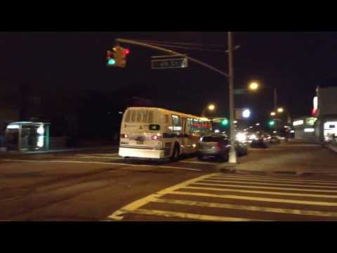 MTA New York City Bus 1999 NovaBUS RTS-06 #5104 on the B6