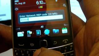 How To Unlock The BlackBerry Bold 9900 9930 At&t T-Mobile