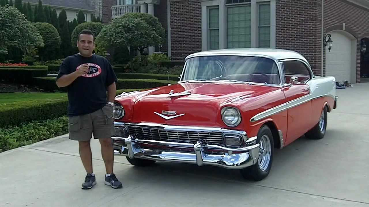 1956 Chevy Bel Air Classic Muscle Car For Sale In Mi Vanguard Motor Sales Youtube