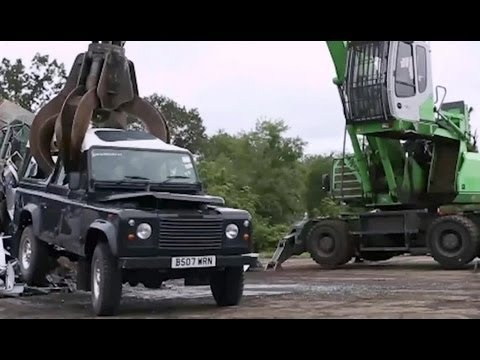 Land Rover Defender Crushed - AiirSource