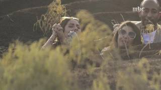 بالفيديو.. شاهد ماذا فعلت نسرين أمين بعد رؤية سحلية رامز تحت الأرض  