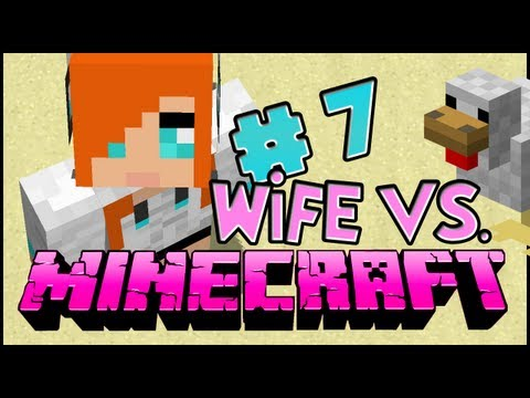 Wife vs. Minecraft - Episode 7: They Are My Doggies!