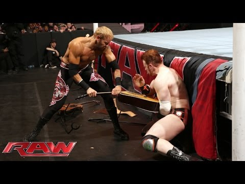 Sheamus vs. Christian - WWE App Vote Match: Raw, March 10, 2014