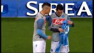 Callejon festeggia le 100 presenze con la maglia del Napoli