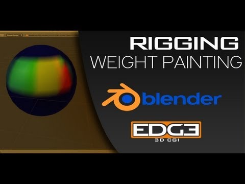 Blender for Beginners:  Weight Painting / Rigging Tutorial by ZoyncTV