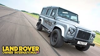 520bhp V8 Land Rover Defender!